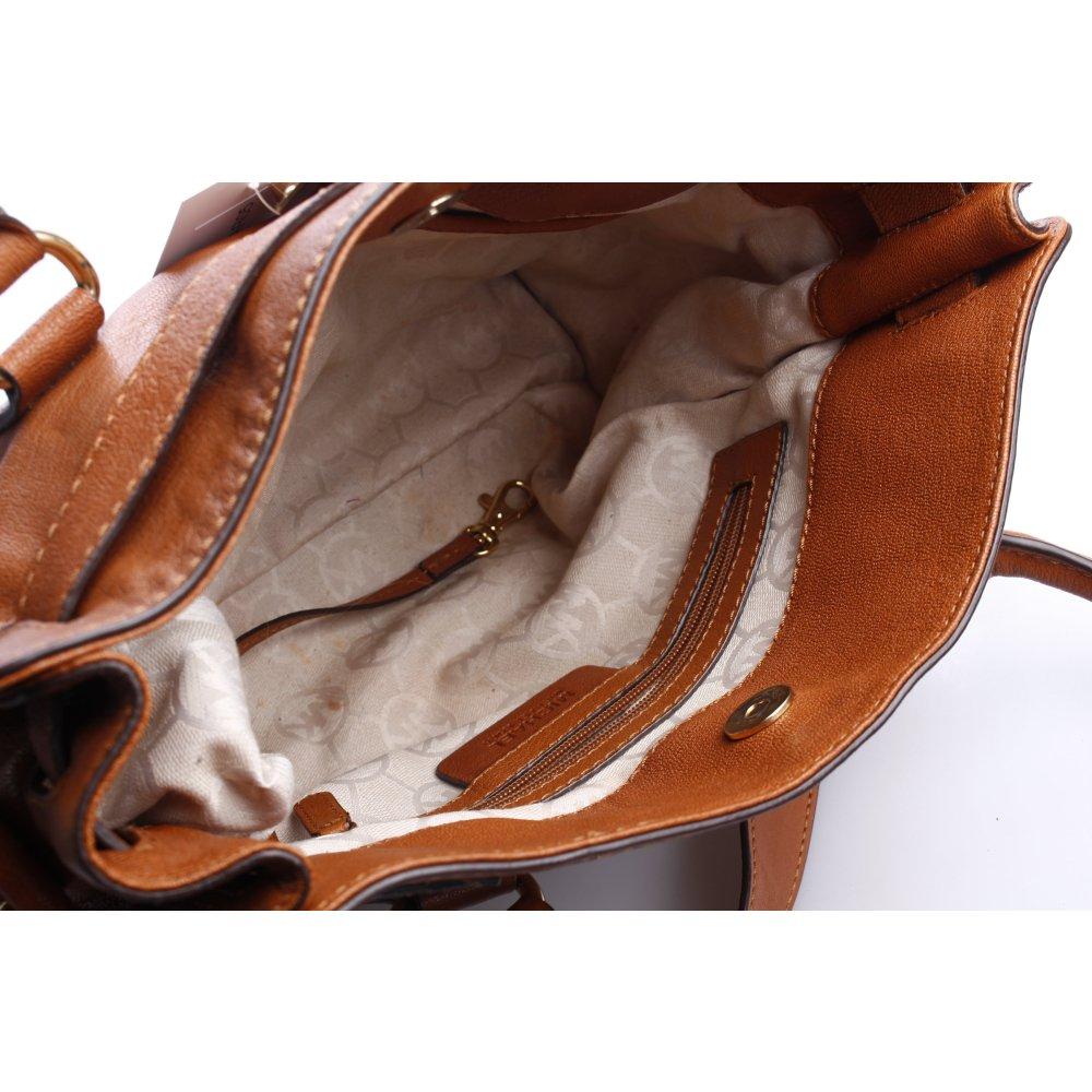 michael kors handtasche braun casual look damen tasche bag. Black Bedroom Furniture Sets. Home Design Ideas