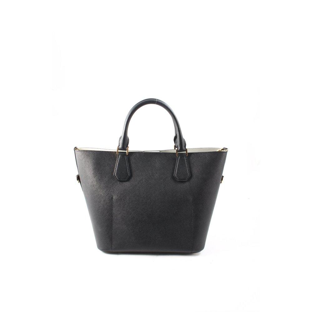 michael kors handtasche greenwich damen schwarz tasche bag handbag ebay. Black Bedroom Furniture Sets. Home Design Ideas