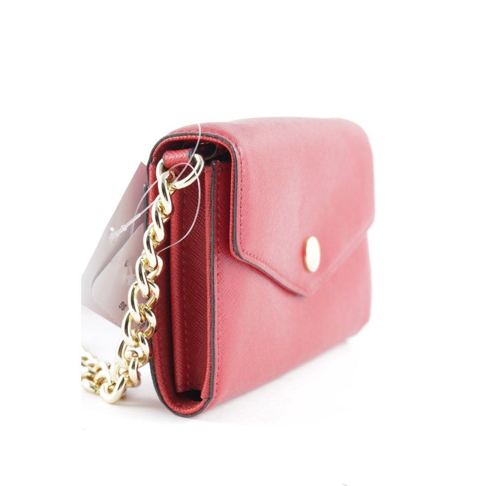 michael kors handtasche rot casual look damen tasche bag. Black Bedroom Furniture Sets. Home Design Ideas