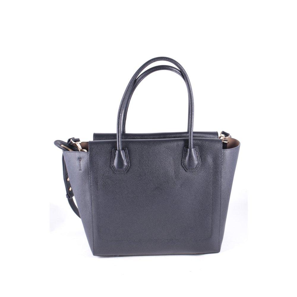 michael kors carry bag black elegant women s. Black Bedroom Furniture Sets. Home Design Ideas