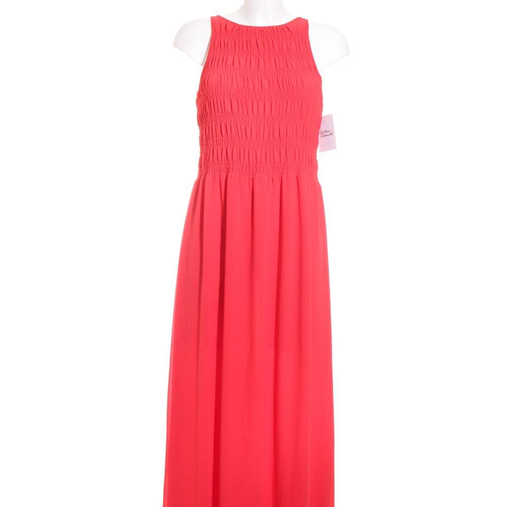 michael kors maxikleid hellrot elegant damen gr de 36 kleid dress maxi dress ebay. Black Bedroom Furniture Sets. Home Design Ideas