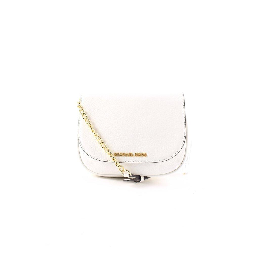 michael kors mini bag bedford sm crossbody women s cream. Black Bedroom Furniture Sets. Home Design Ideas