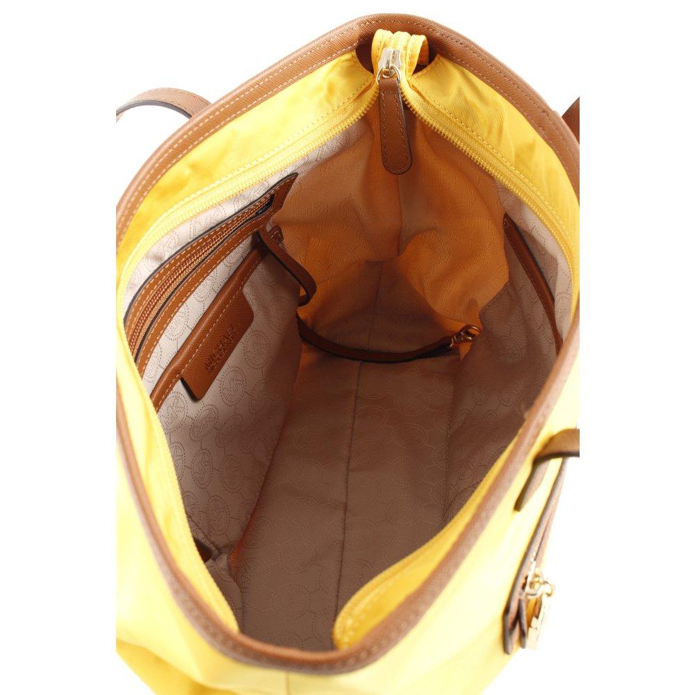 Michael Kors Shopper gelb braun Casual Look