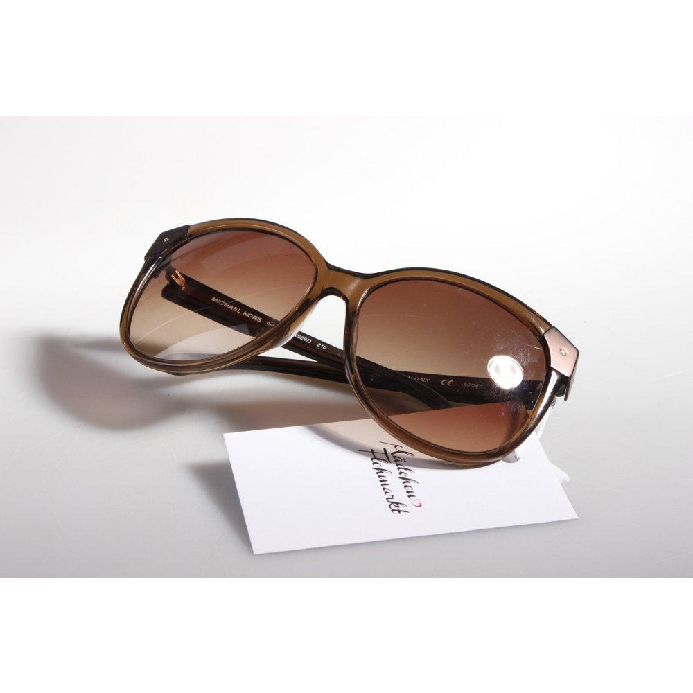 michael kors sonnenbrille braun transparent damen sunglasses ebay. Black Bedroom Furniture Sets. Home Design Ideas
