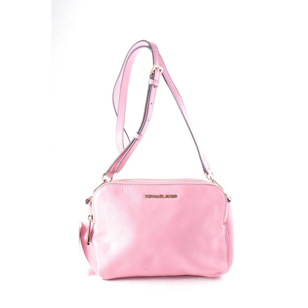 michael kors umh ngetasche rosa klassischer stil damen tasche bag leder ebay. Black Bedroom Furniture Sets. Home Design Ideas