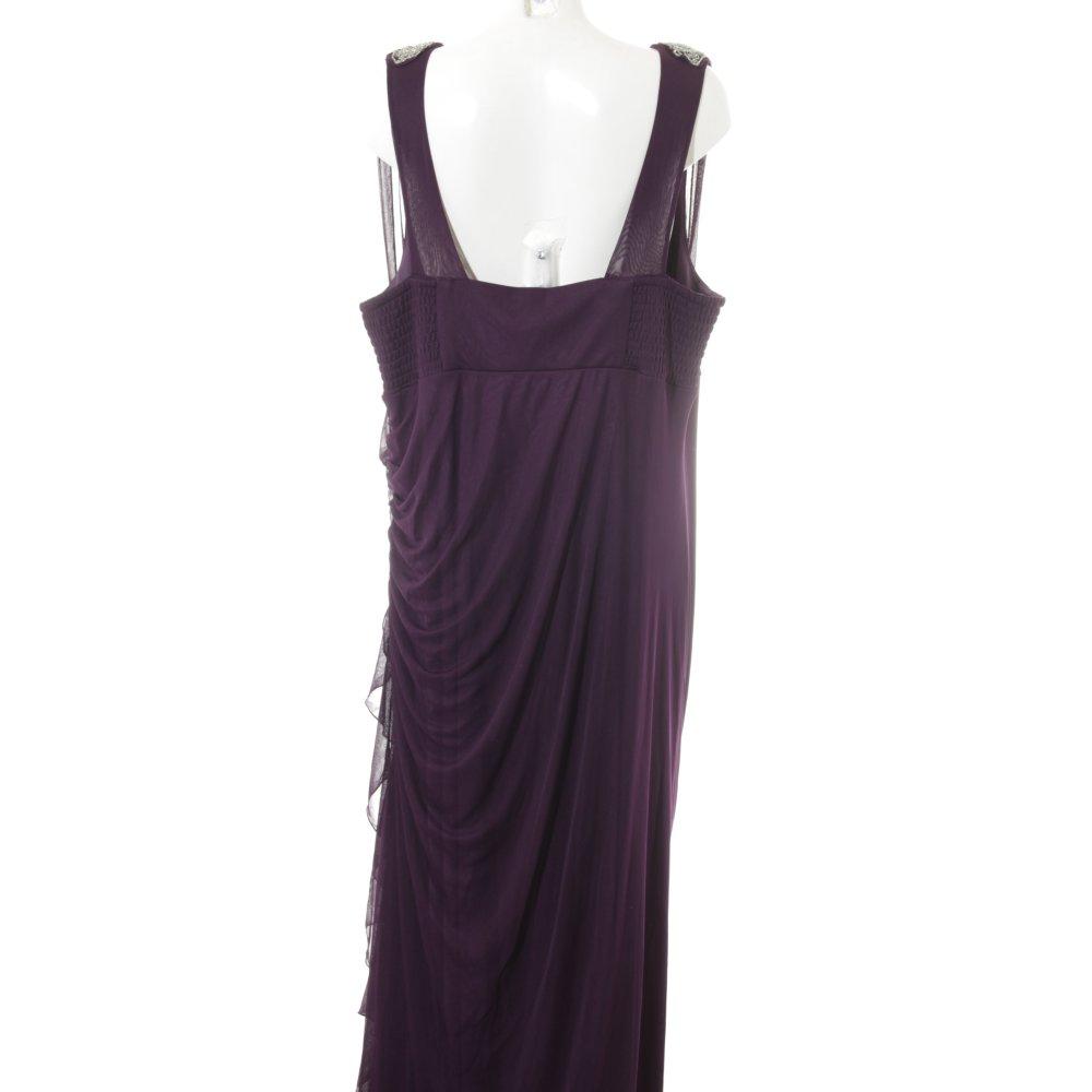 MIM Abendkleid lila Elegant Damen Gr. DE 52 Kleid Dress ...