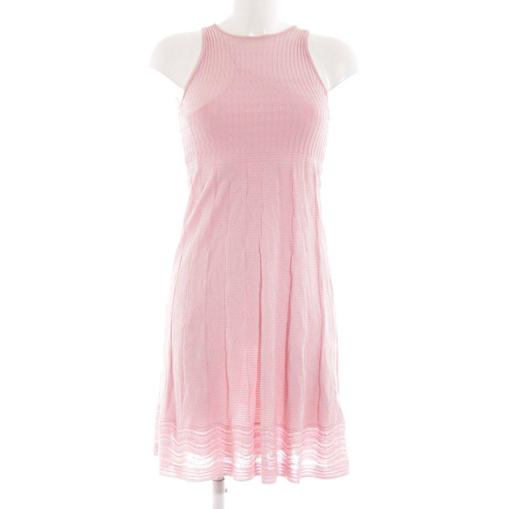 size 40 4ddc2 26f5c Dettagli su MISSONI Abito di maglia rosa stile casual Donna Taglia IT 40