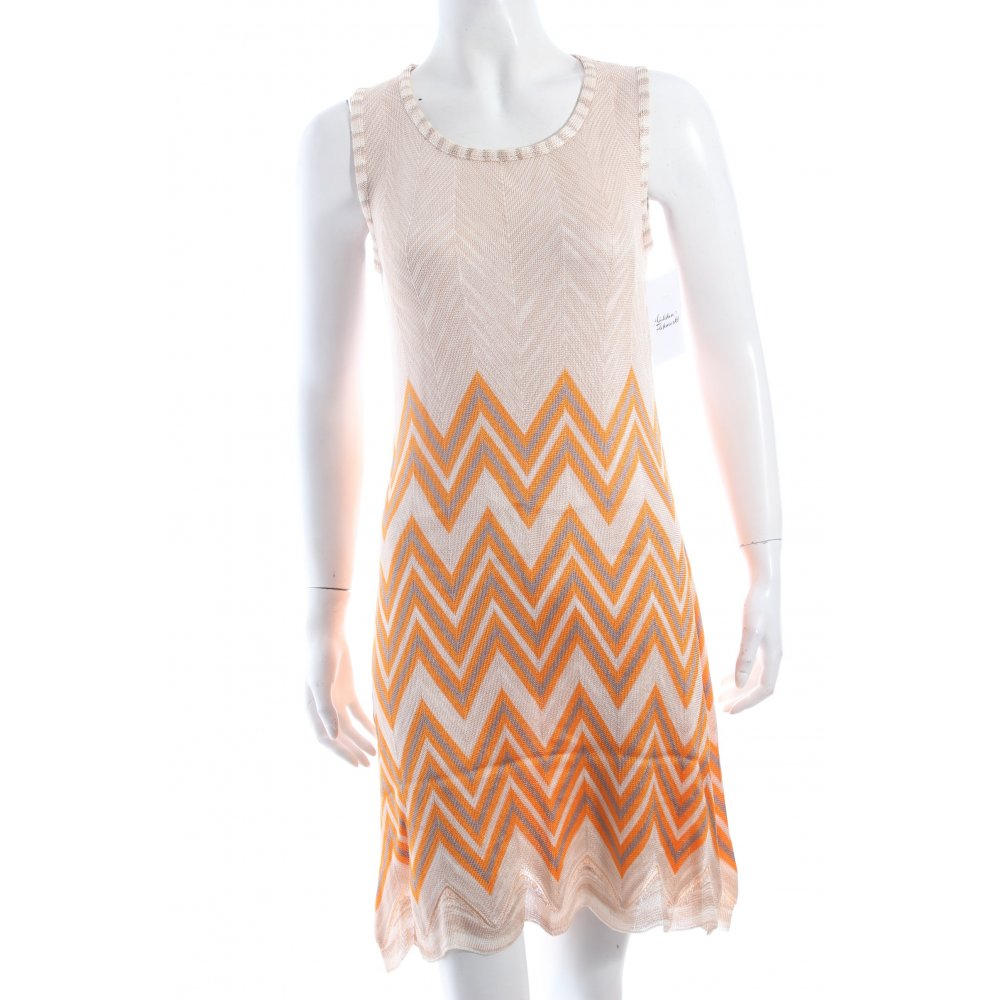 Missoni strickkleid mehrfarbig klassischer stil damen gr for Klassischer stil