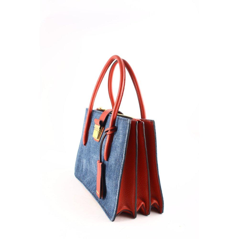 miu miu handtasche mehrfarbig elegant damen rot tasche bag. Black Bedroom Furniture Sets. Home Design Ideas