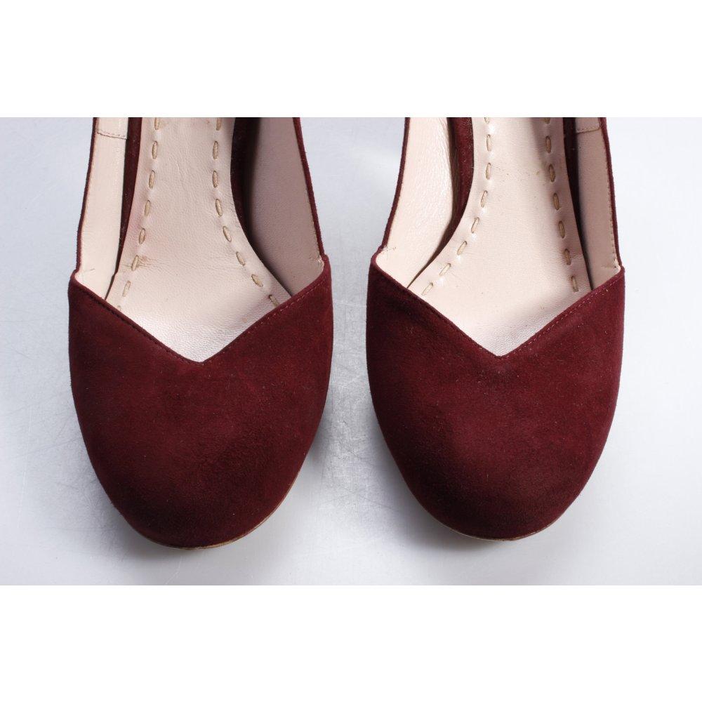 miu miu pumps weinrot damen gr de 37 bordeauxrot schuhe shoes damenschuhe ebay. Black Bedroom Furniture Sets. Home Design Ideas