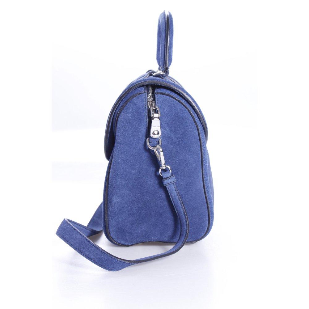 miu miu umh ngetasche bauletto scamosciato dunkelblau damen blau tasche bag ebay. Black Bedroom Furniture Sets. Home Design Ideas
