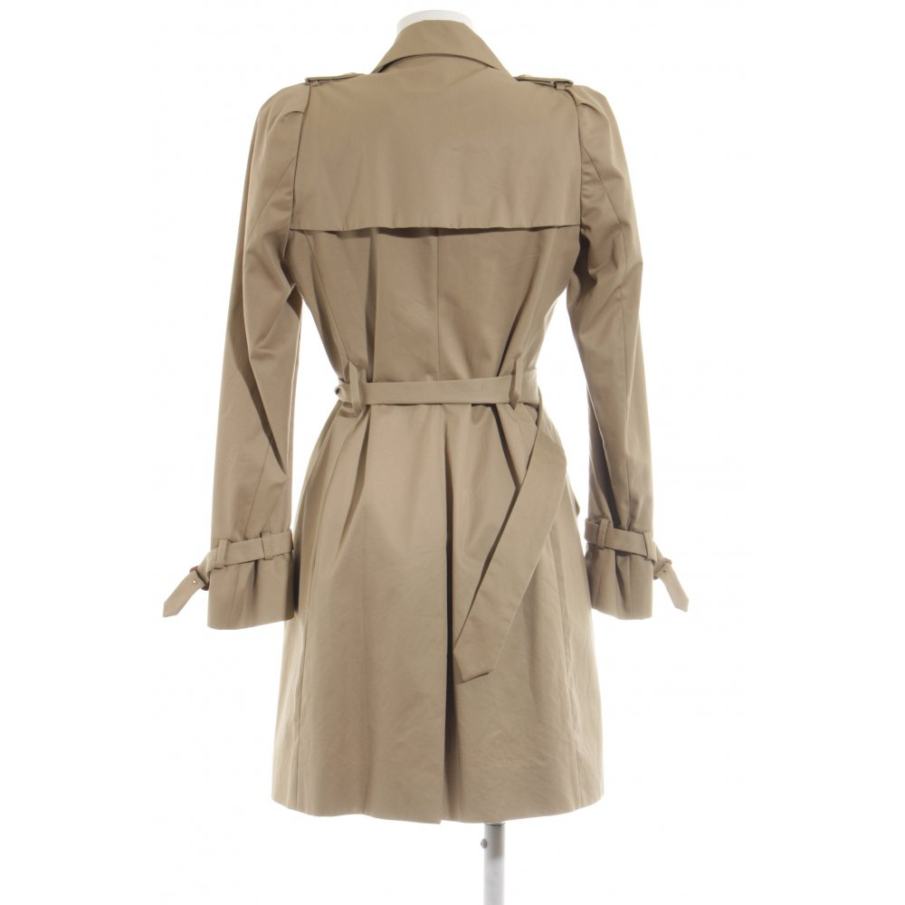 Kauf echt genießen Sie besten Preis Keine Verkaufssteuer MONCLER Trenchcoat creme Business-Look Damen Gr. DE 34 ...