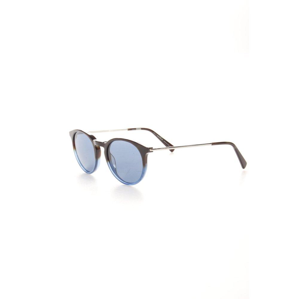montblanc runde sonnenbrille schwarz blau farbverlauf logopr gung damen ebay. Black Bedroom Furniture Sets. Home Design Ideas