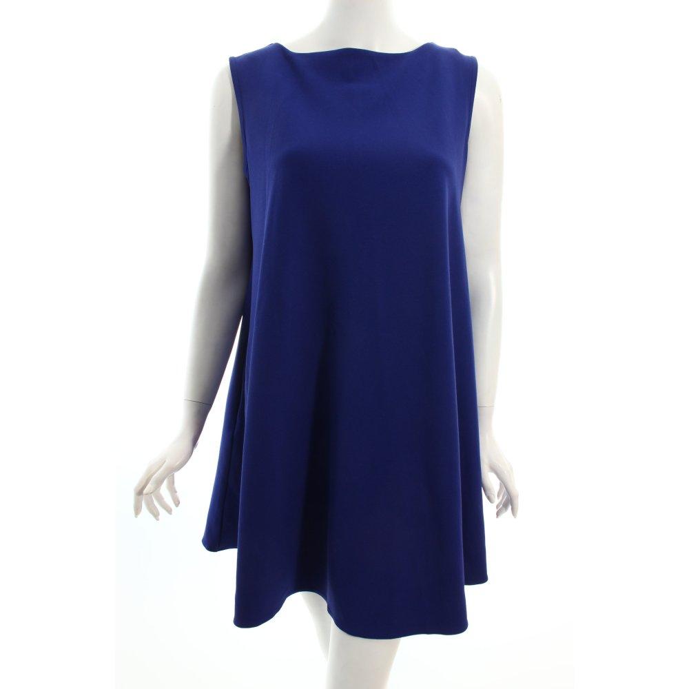 n 2110 a linien kleid blau schlichter stil damen dress a line dress ebay. Black Bedroom Furniture Sets. Home Design Ideas