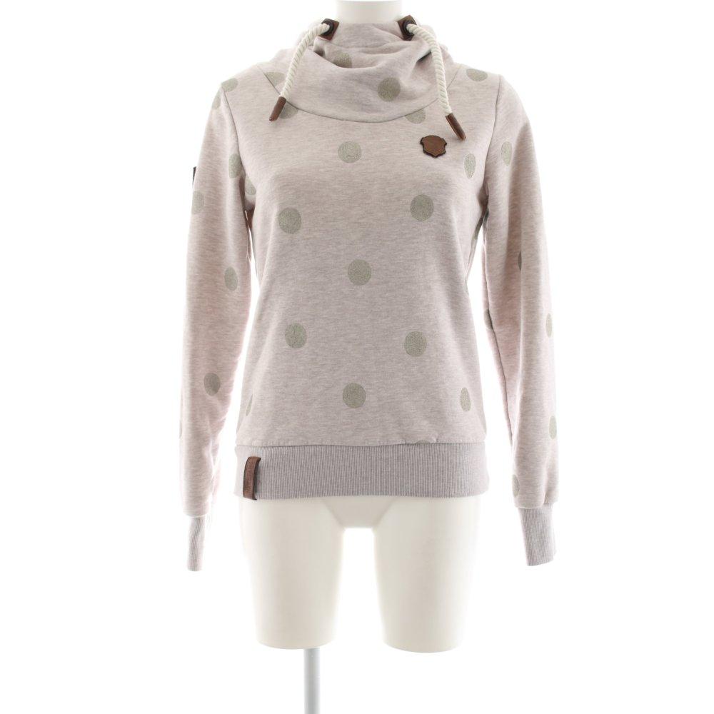 Détails sur Naketano Capuche Sweatshirt wollweiß gris clair chiné casual Look Femmes Taille FR 38 afficher le titre d'origine