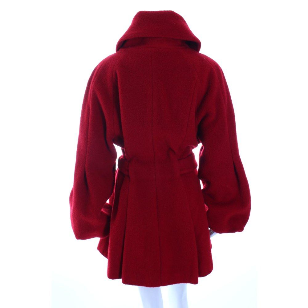 nicowa wollmantel rot elegant damen gr de 40 mantel coat. Black Bedroom Furniture Sets. Home Design Ideas