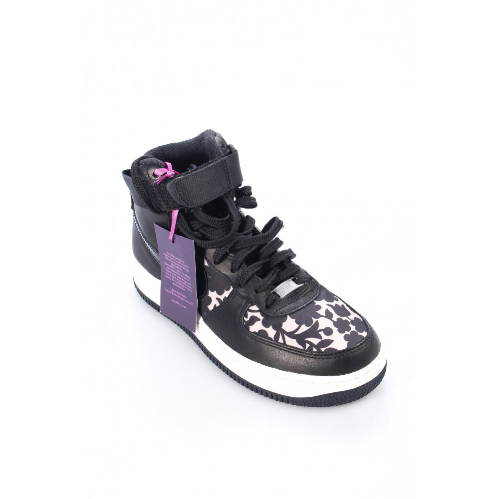 nike high top sneaker air damen gr de 38 schwarz. Black Bedroom Furniture Sets. Home Design Ideas