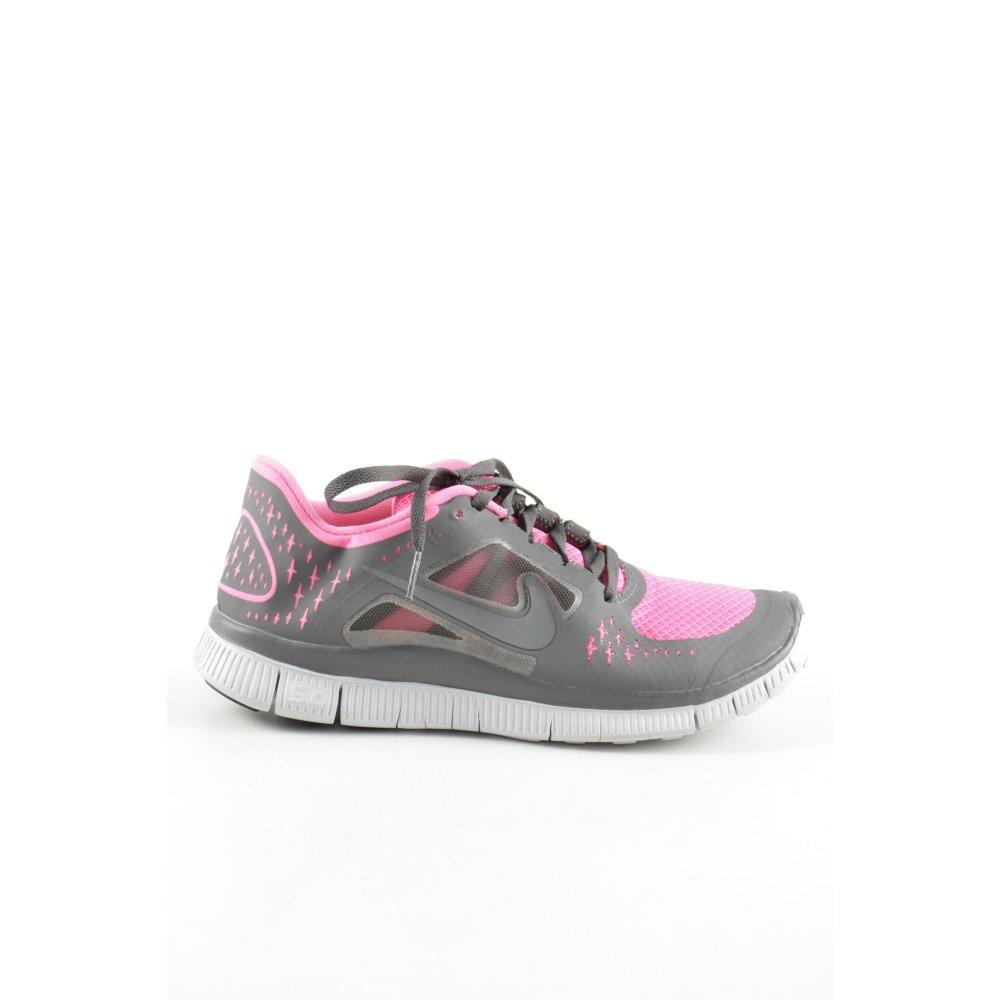 """NIKE Schnürsneaker """"Free Run 3"""" Damen Gr. DE 37 pink Sneaker"""