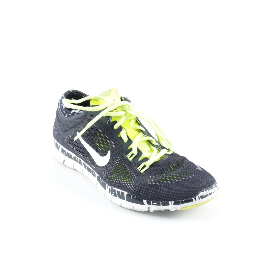 NIKE Sneaker stringata nero modello misto stile atletico Donna Taglia IT 38
