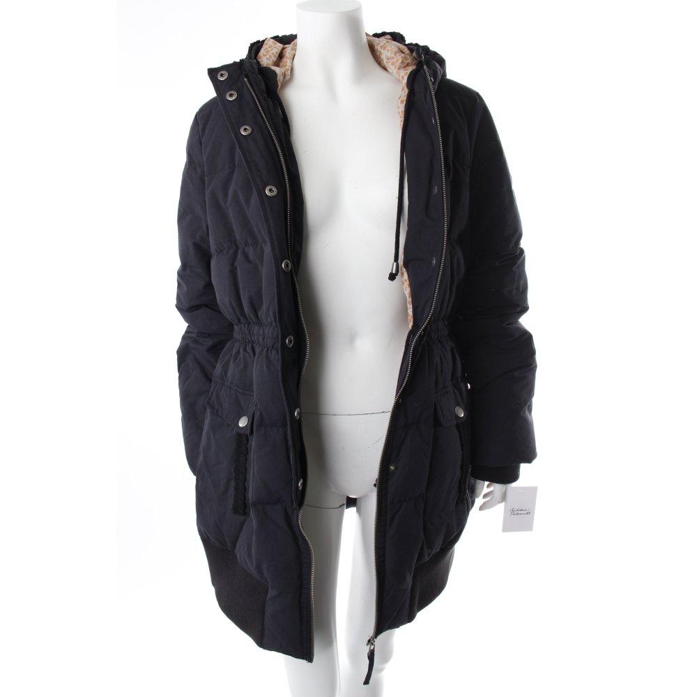 noa noa daunenjacke dunkelblau damen gr de 38 jacke jacket down jacket ebay. Black Bedroom Furniture Sets. Home Design Ideas