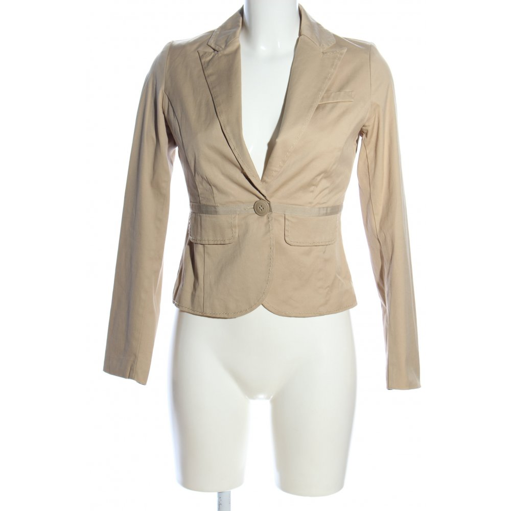 Old Navy Blazer Corto Crema Estilo Business Mujeres Talla Eu 34 Ebay