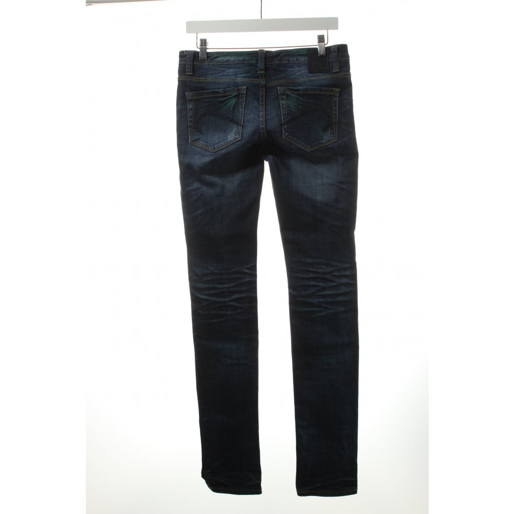 one green elephant skinny jeans dark blue turquoise casual look women. Black Bedroom Furniture Sets. Home Design Ideas