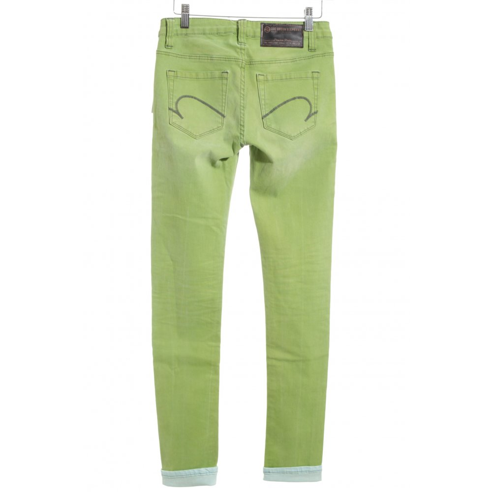 one green elephant skinny jeans gr n casual look damen gr de 34 ebay. Black Bedroom Furniture Sets. Home Design Ideas
