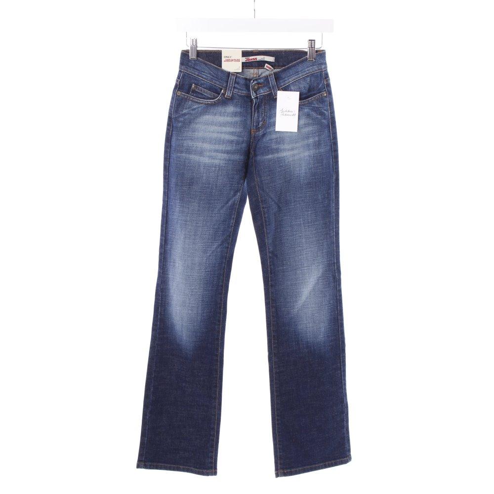 only straight leg jeans auto low dunkelblau damen gr de. Black Bedroom Furniture Sets. Home Design Ideas