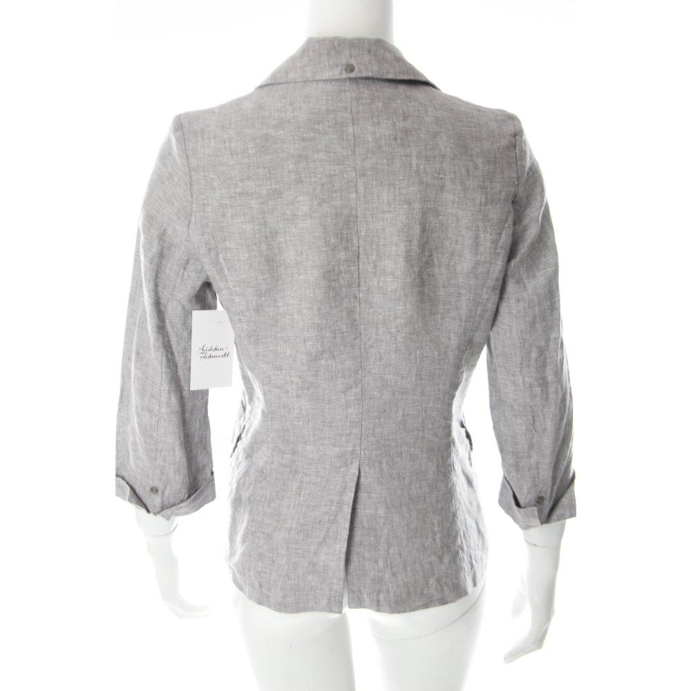 Opus blazer hellgrau meliert klassischer stil damen gr de for Klassischer stil
