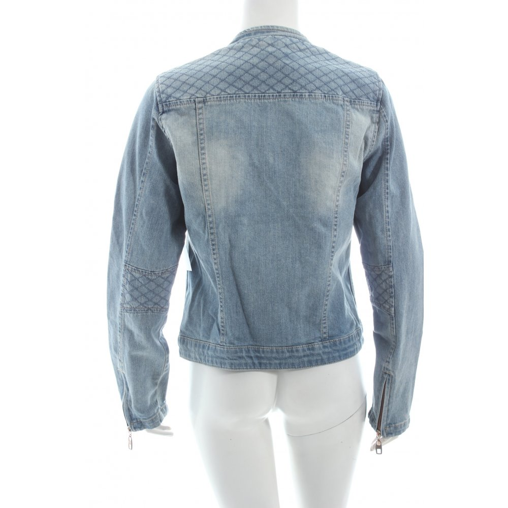 opus jeansjacke hellblau casual look damen gr de 38 jacke jacket denim jacket ebay. Black Bedroom Furniture Sets. Home Design Ideas