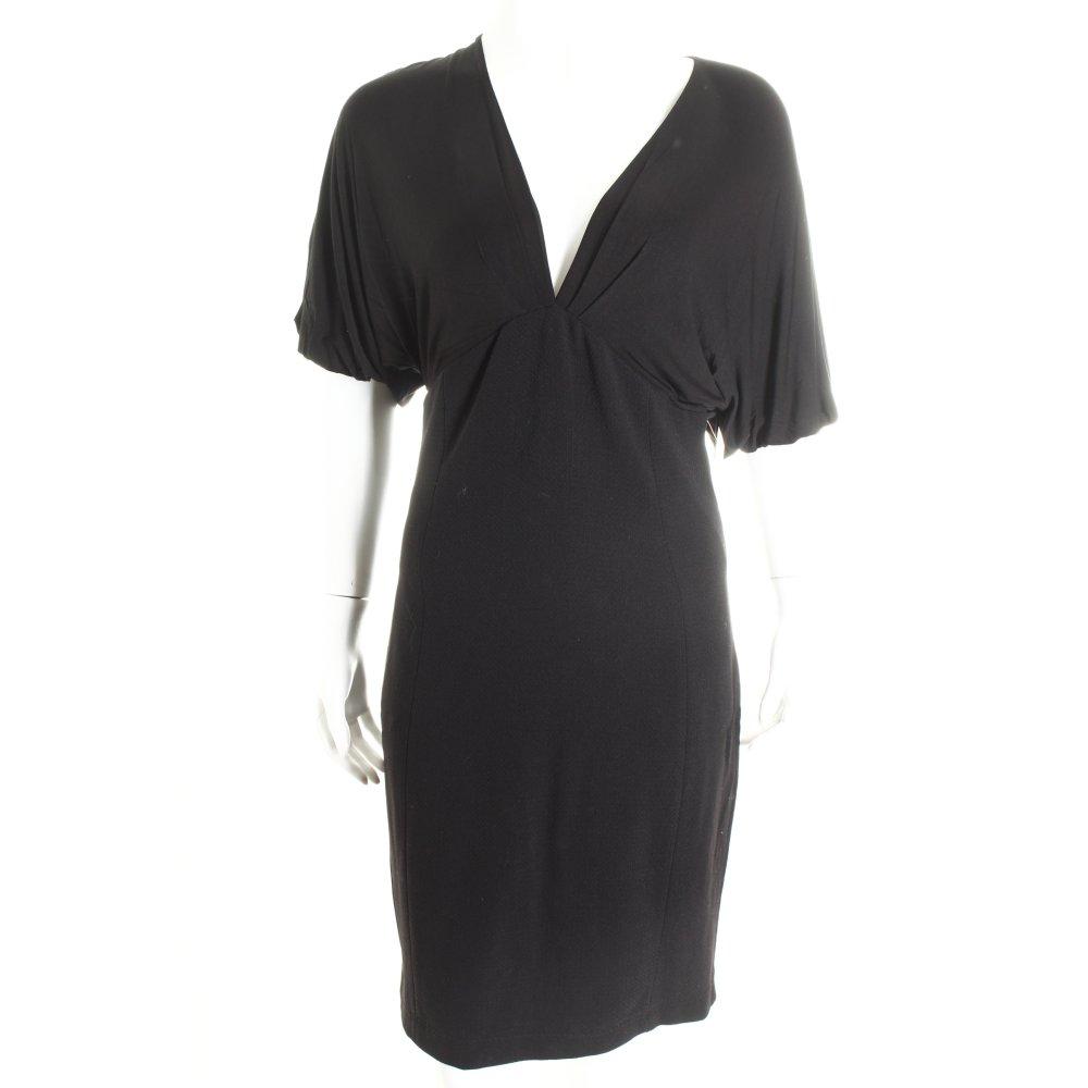 patrizia pepe dress black elegant women s size uk 10 ebay. Black Bedroom Furniture Sets. Home Design Ideas