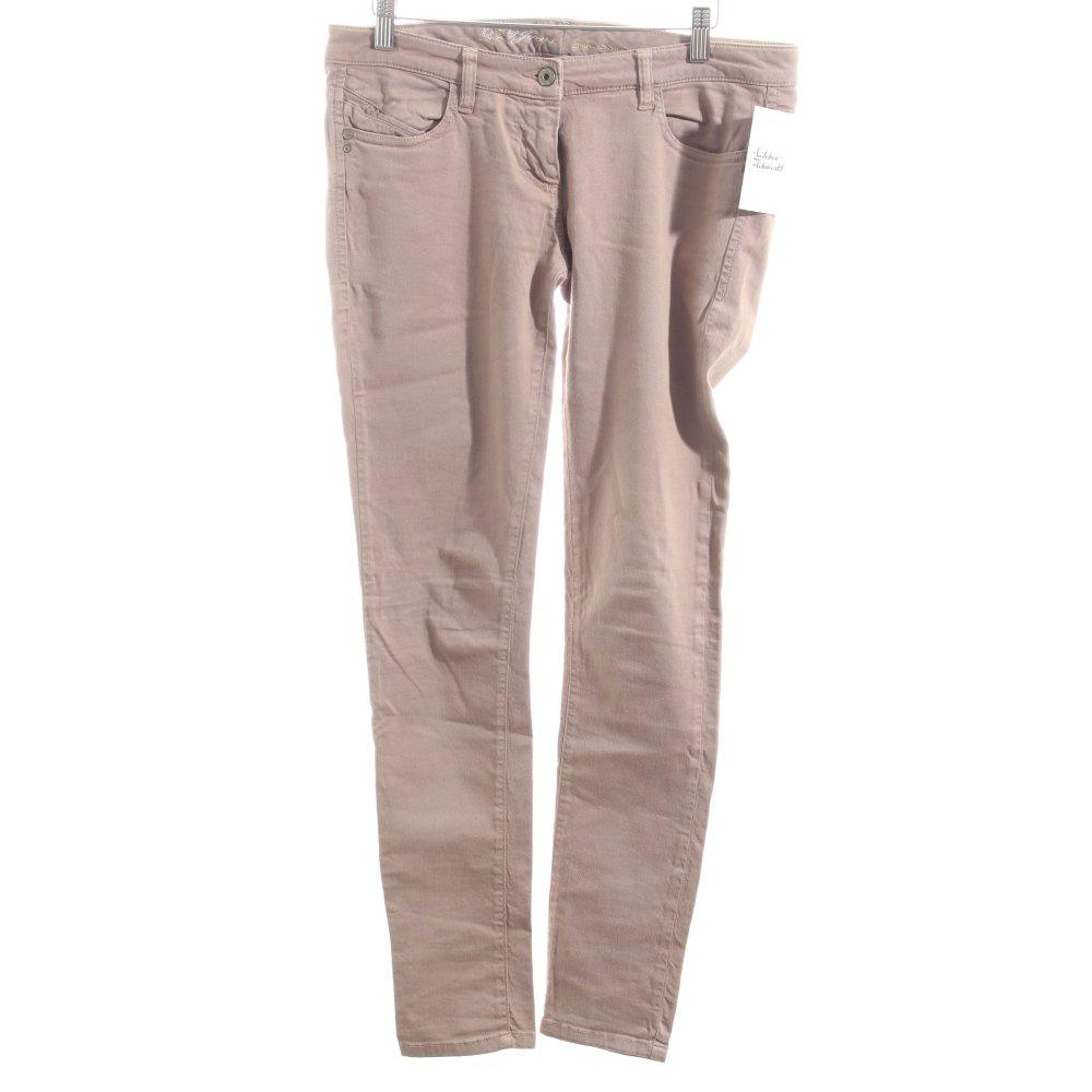 patrizia pepe skinny jeans beige casual look damen gr de 38 baumwolle ebay. Black Bedroom Furniture Sets. Home Design Ideas
