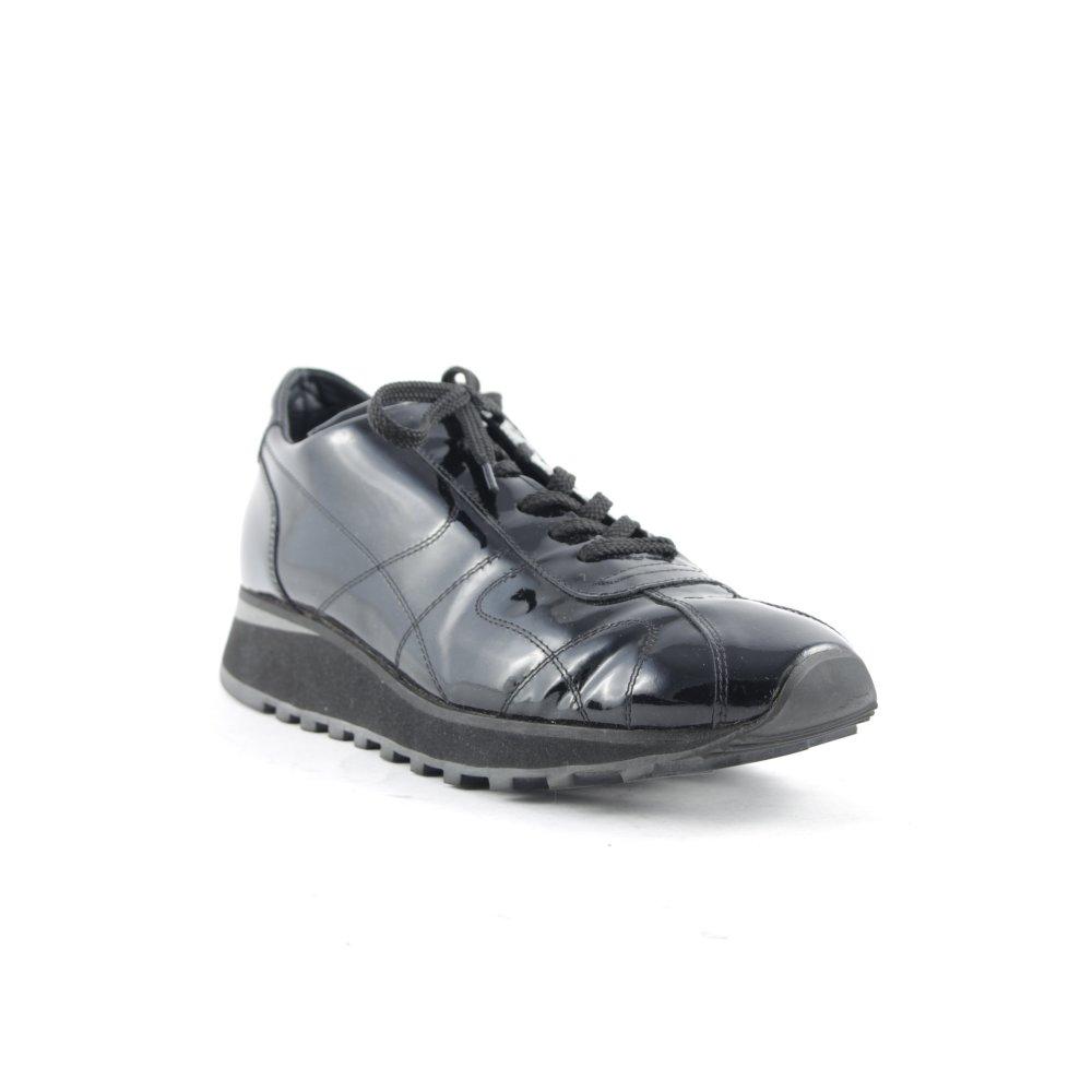 paul green absatz sneaker schwarz damen gr de 36 sneakers. Black Bedroom Furniture Sets. Home Design Ideas