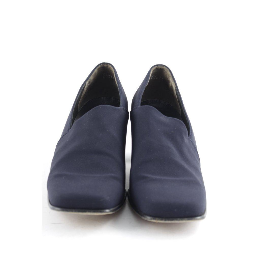 paul green high heels dunkelblau elegant damen gr de 38 pumps damenschuhe ebay. Black Bedroom Furniture Sets. Home Design Ideas