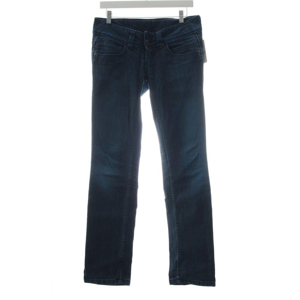 pepe jeans slim jeans venus blau damen gr de 38 ebay. Black Bedroom Furniture Sets. Home Design Ideas