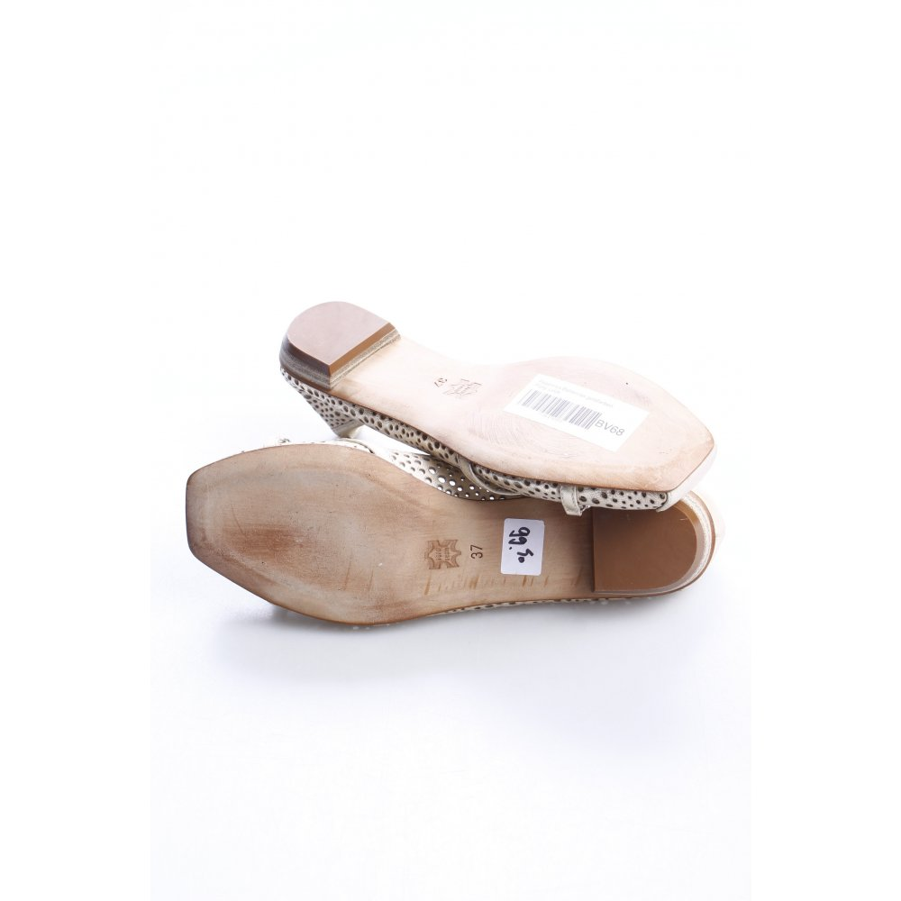 PEPEROSA Ballerinas gold-colored party style Women's Size ...