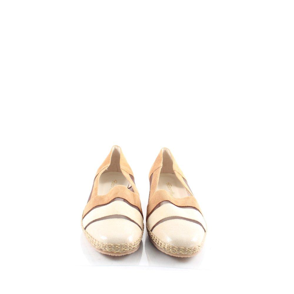 peter hahn ballerinas mehrfarbig glanz optik damen gr de 42 beige schuhe shoes ebay. Black Bedroom Furniture Sets. Home Design Ideas