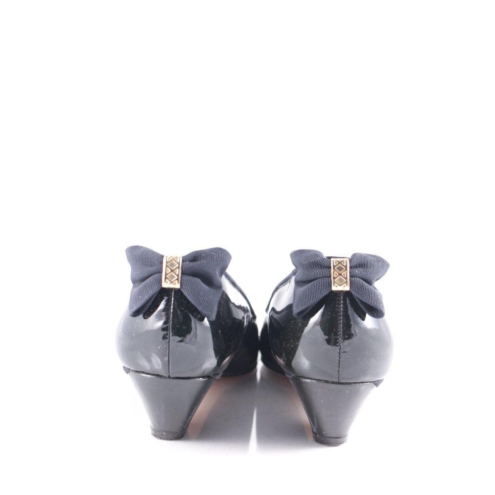 peter kaiser pumps dark blue classic style women s size uk 6 shoes. Black Bedroom Furniture Sets. Home Design Ideas