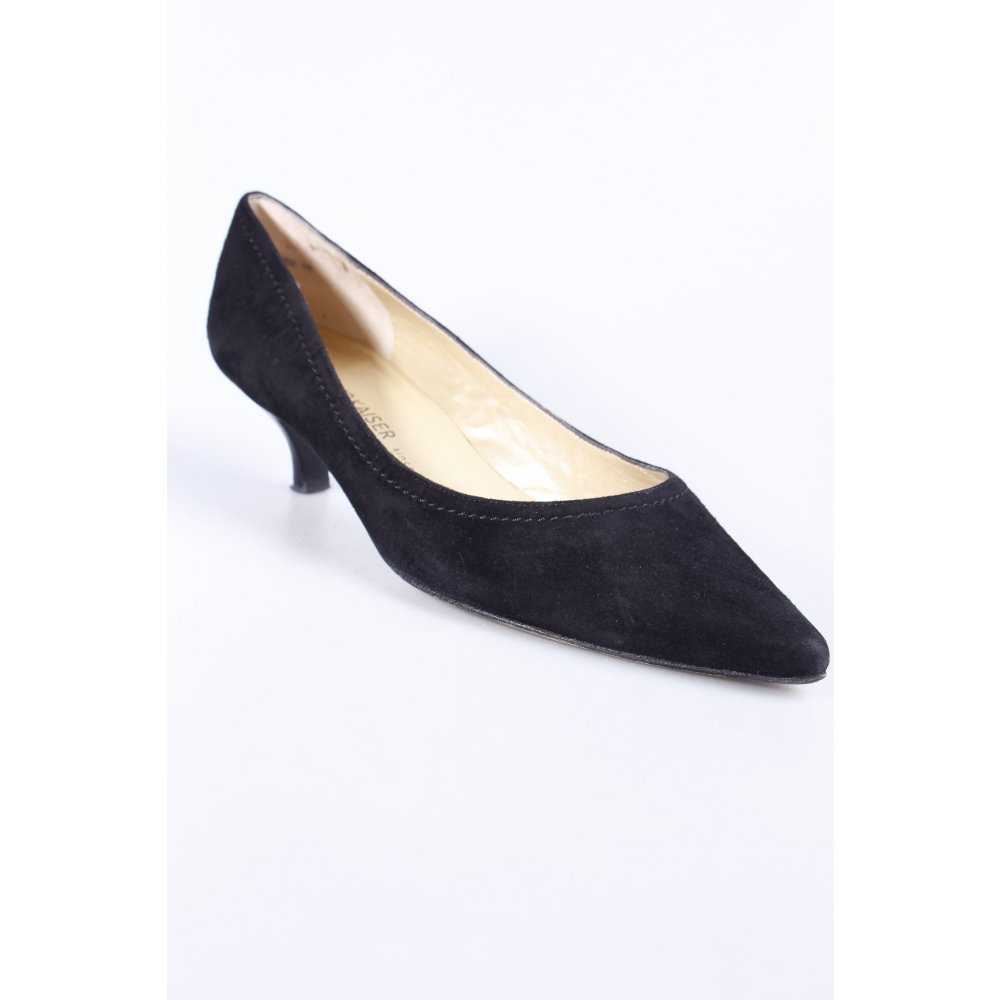 peter kaiser spitz pumps schwarz business look damen gr de 42 pointed toe pumps. Black Bedroom Furniture Sets. Home Design Ideas