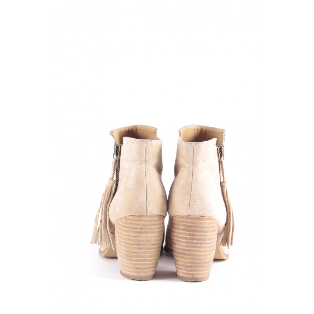 pier one ankle boots hellbeige boho look damen gr de 37 damenschuhe ebay. Black Bedroom Furniture Sets. Home Design Ideas