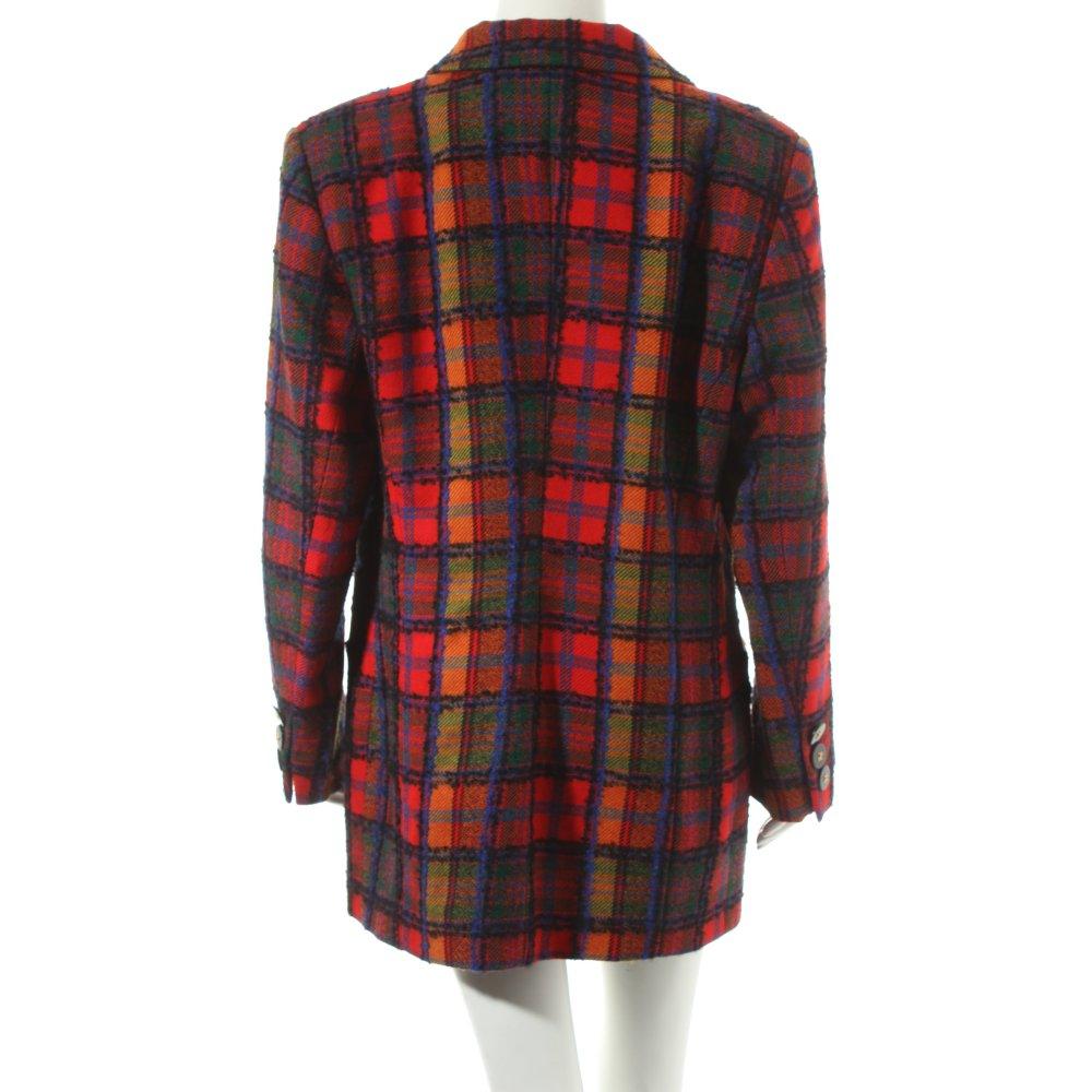 Prestige woll blazer karomuster vintage look damen gr de for Ka che vintage look