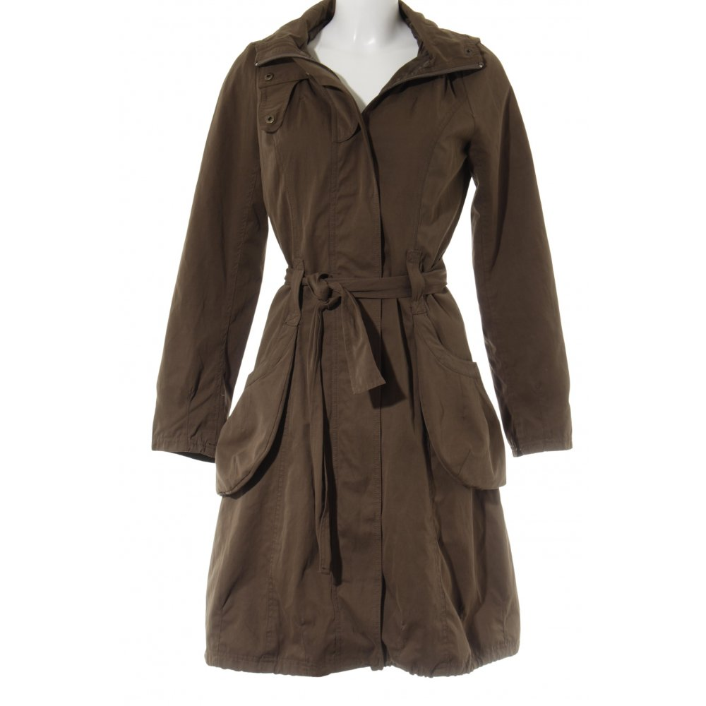 Cappotti Zara in Poliestere Verde taglia M International
