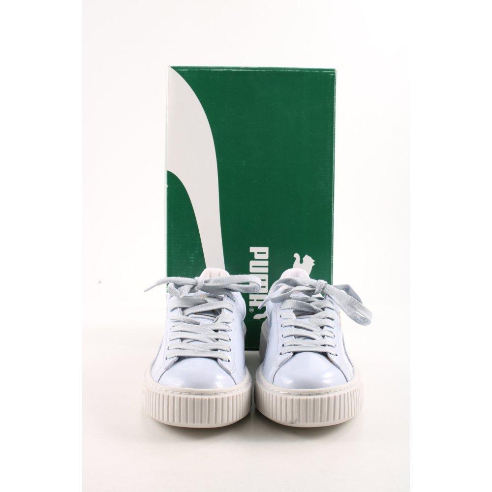 Dettagli su PUMA Sneaker stringata multicolore stile casual Donna Taglia IT 37,5 bianco