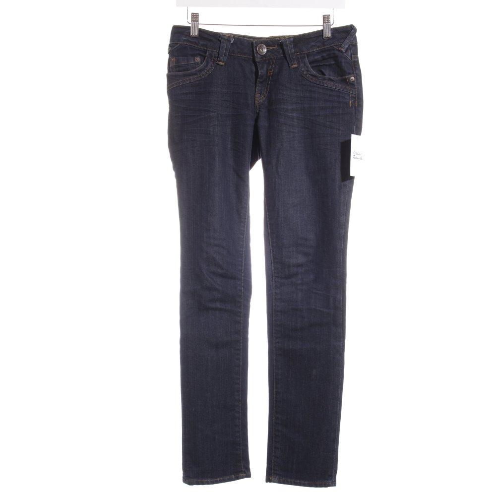 qs by s oliver slim jeans dunkelblau casual look damen gr. Black Bedroom Furniture Sets. Home Design Ideas