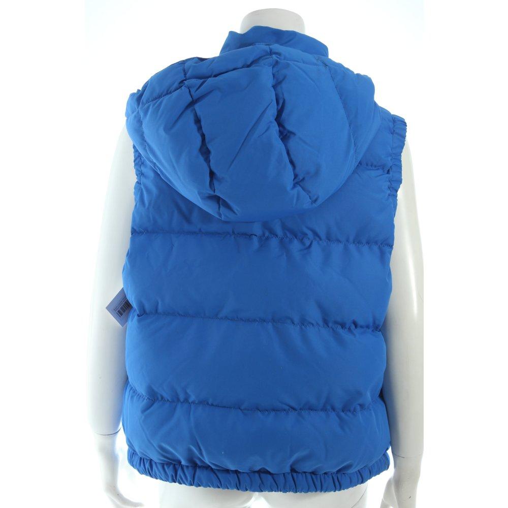 ralph lauren daunenweste blau steppmuster sportlicher stil damen gr de 46 weste ebay. Black Bedroom Furniture Sets. Home Design Ideas