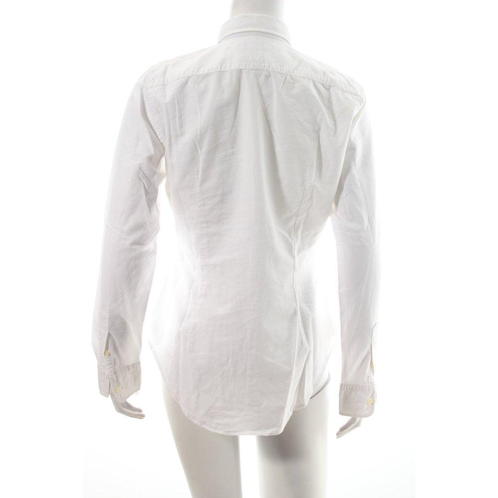 ralph lauren hemd bluse wei business look damen gr de 36. Black Bedroom Furniture Sets. Home Design Ideas