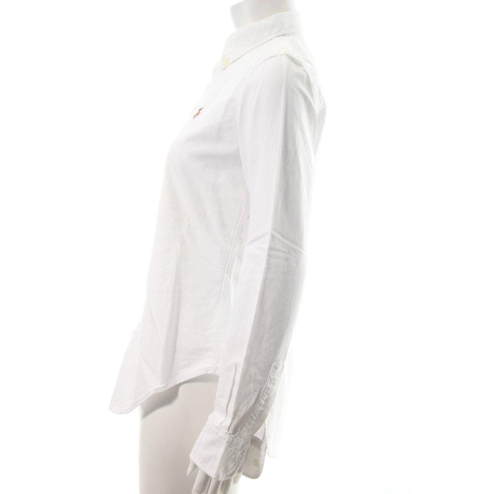ralph lauren shirt blouse white business style women s size uk 8. Black Bedroom Furniture Sets. Home Design Ideas