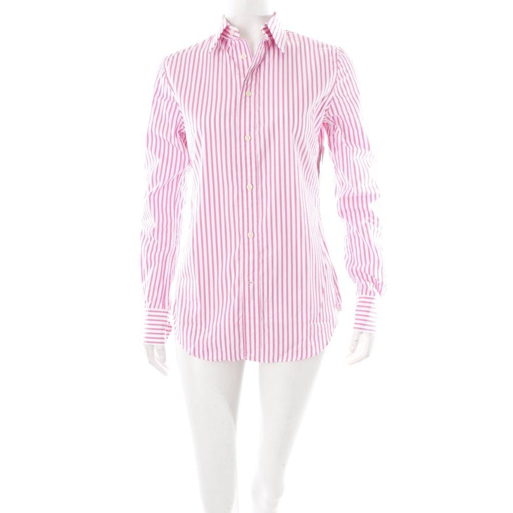 ralph lauren langarmhemd pink wei klassischer stil damen gr de 36 hemd ebay. Black Bedroom Furniture Sets. Home Design Ideas