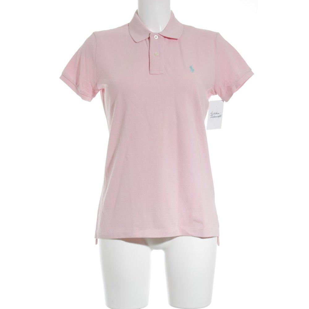 ralph lauren polo shirt rosa business look damen gr de 40. Black Bedroom Furniture Sets. Home Design Ideas