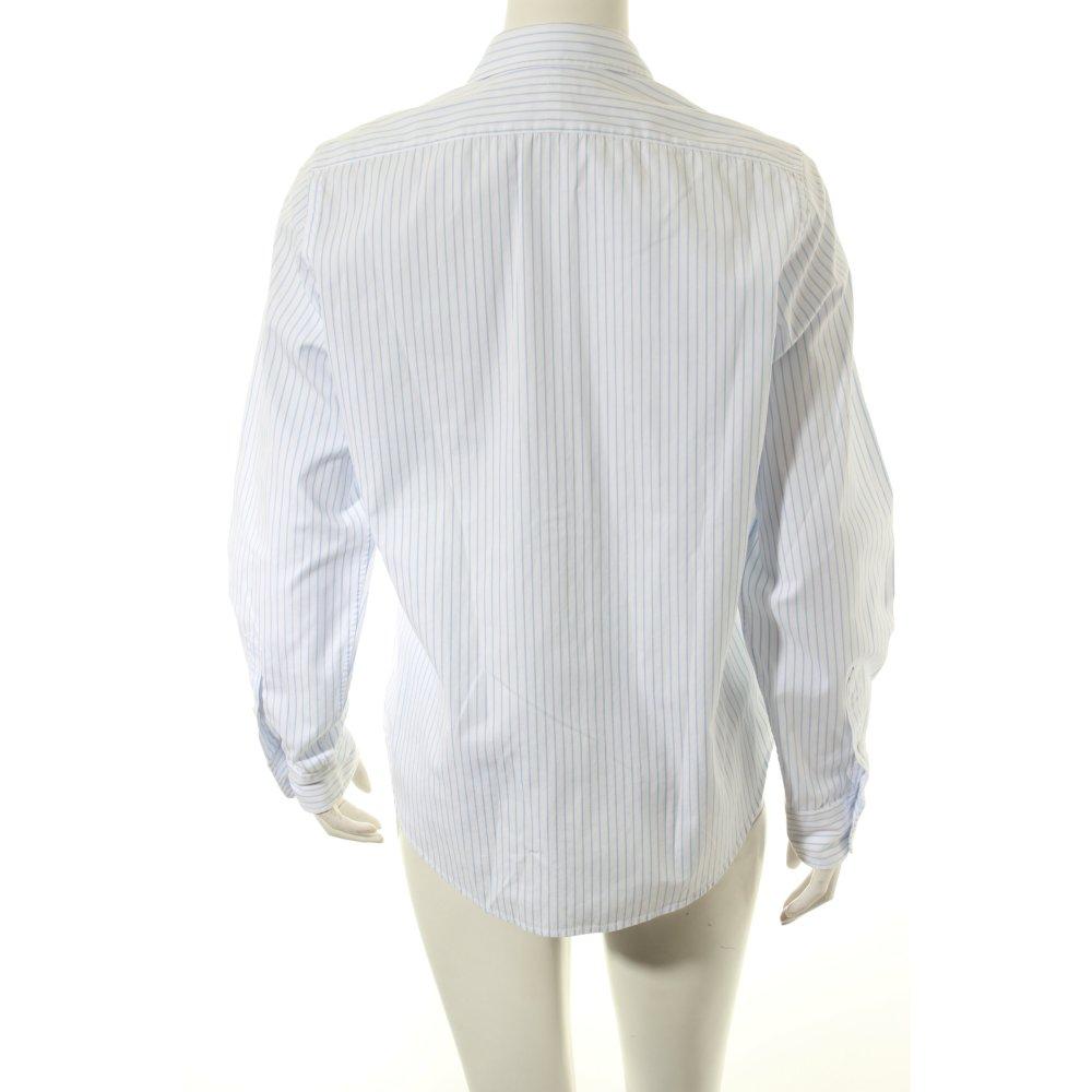 ralph lauren sport hemd bluse wei hellblau streifenmuster. Black Bedroom Furniture Sets. Home Design Ideas